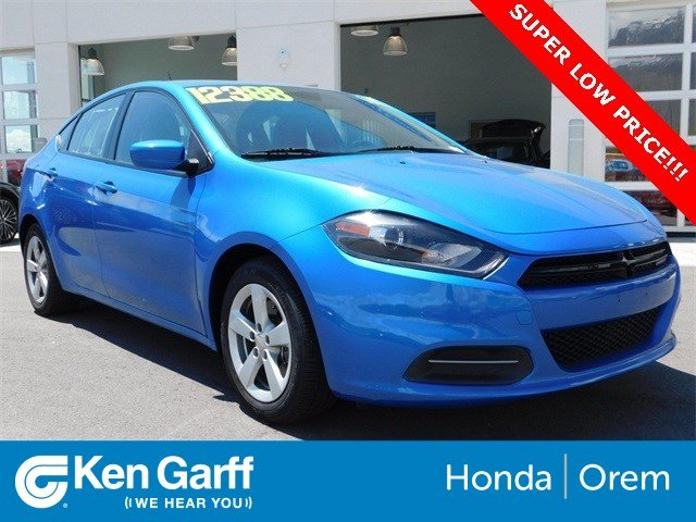 Dodge Dart Sxt >> Pre Owned 2016 Dodge Dart Sxt In Orem 2hu5539 Ken Garff Honda Of Orem