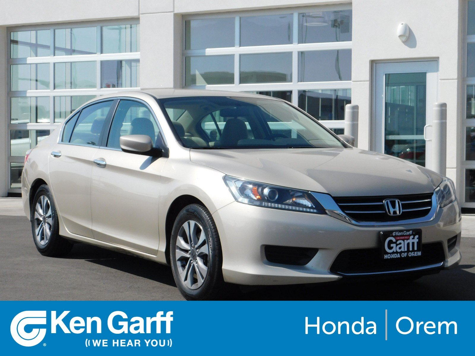 Pre Owned 2013 Honda Accord Sdn LX
