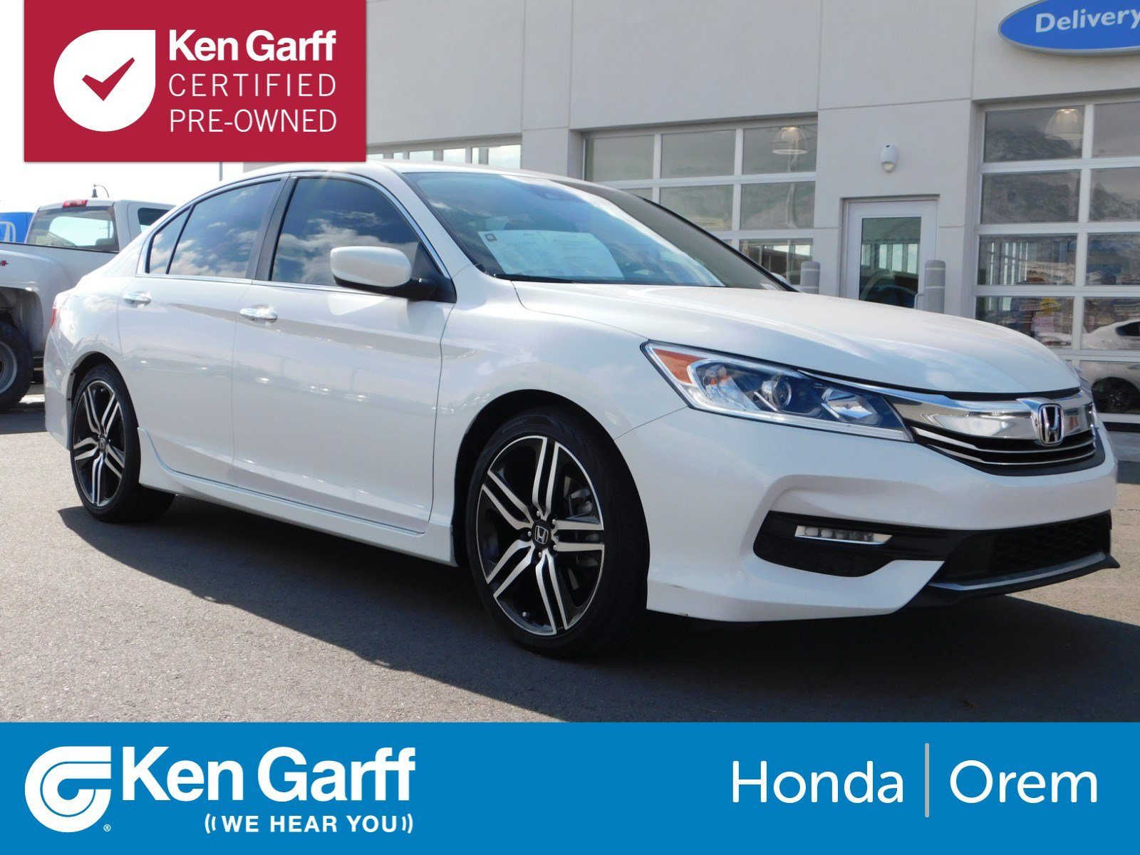 Certified Pre Owned 2016 Honda Accord Sedan Sport