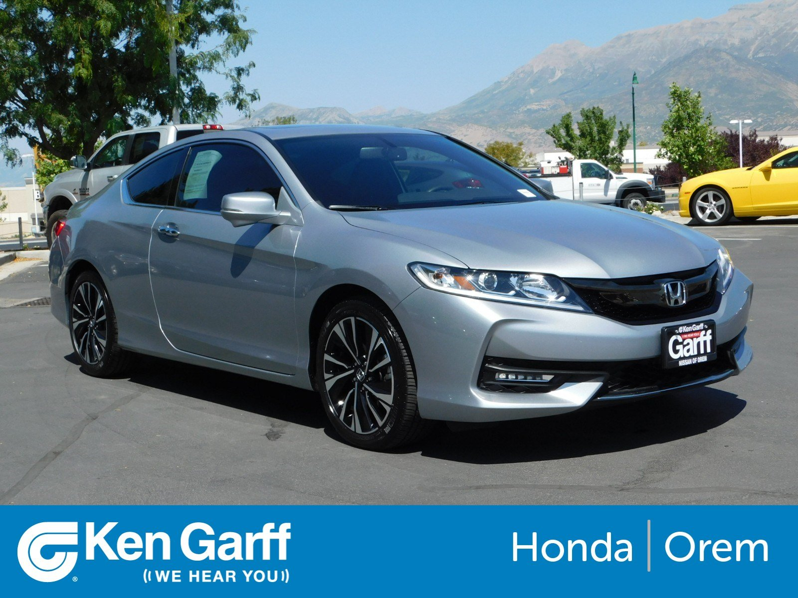 Pre Owned 2017 Honda Accord Coupe Ex L V6 2dr Car In Orem 2hu5341