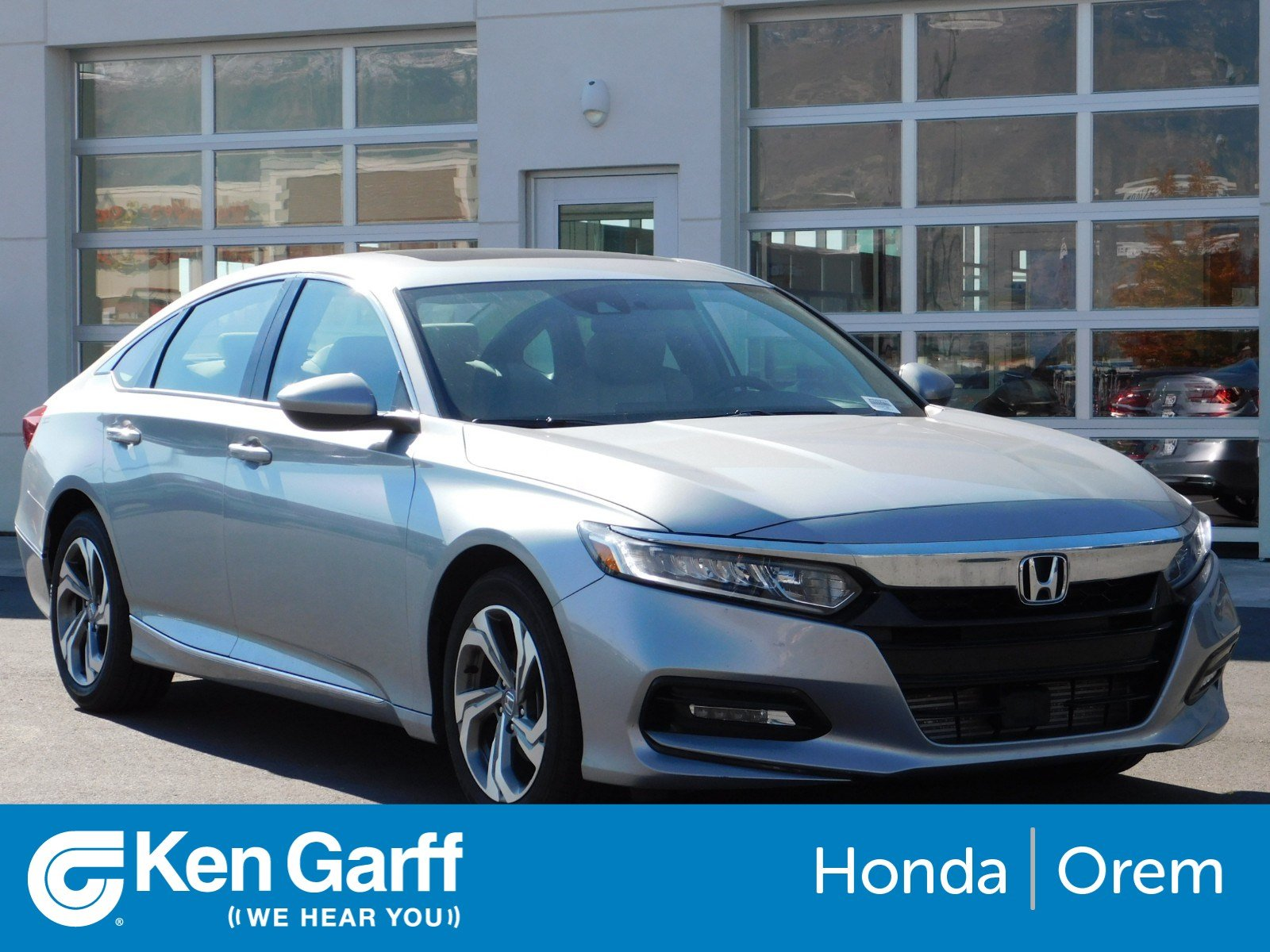 Certified Pre Owned 2018 Honda Accord Sedan EX 1.5T