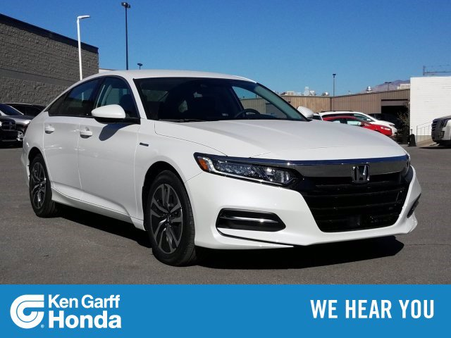 New 2020 Honda Accord Hybrid 4DR SDN