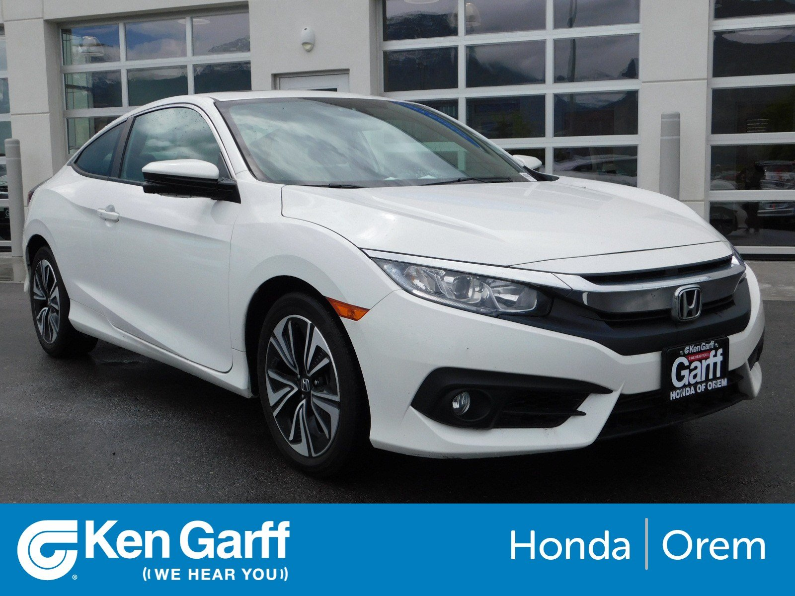 Pre Owned 2016 Honda Civic Coupe Ex T