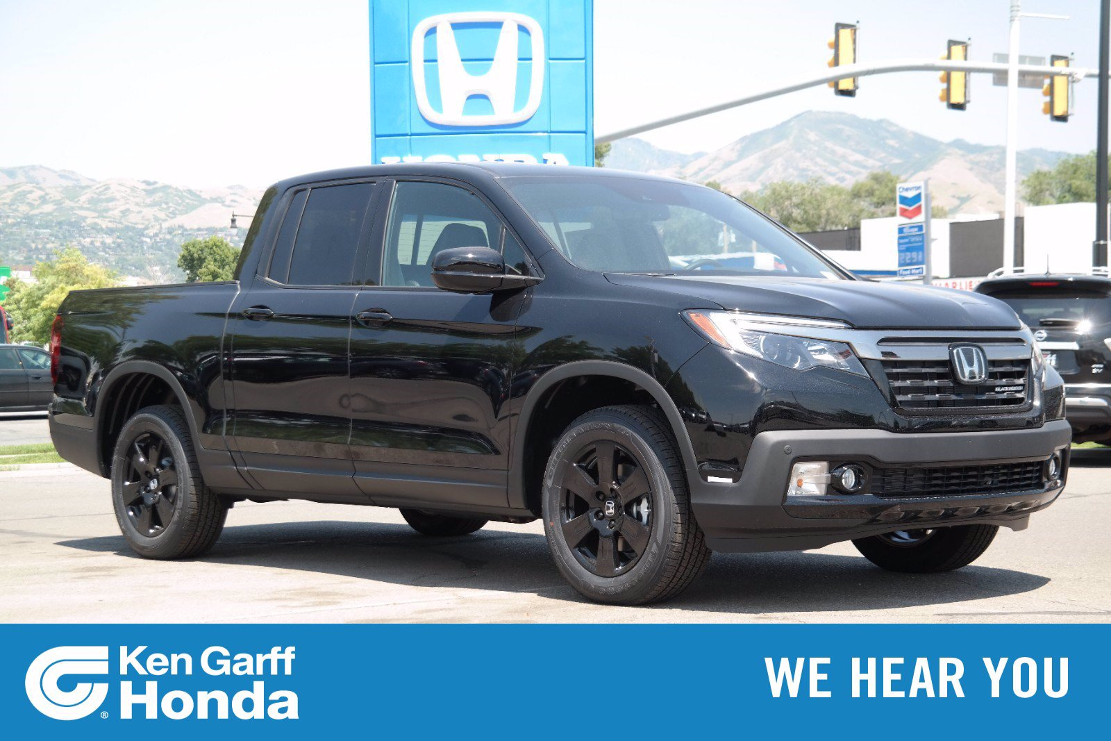 New 2020 Honda Ridgeline Black Edition