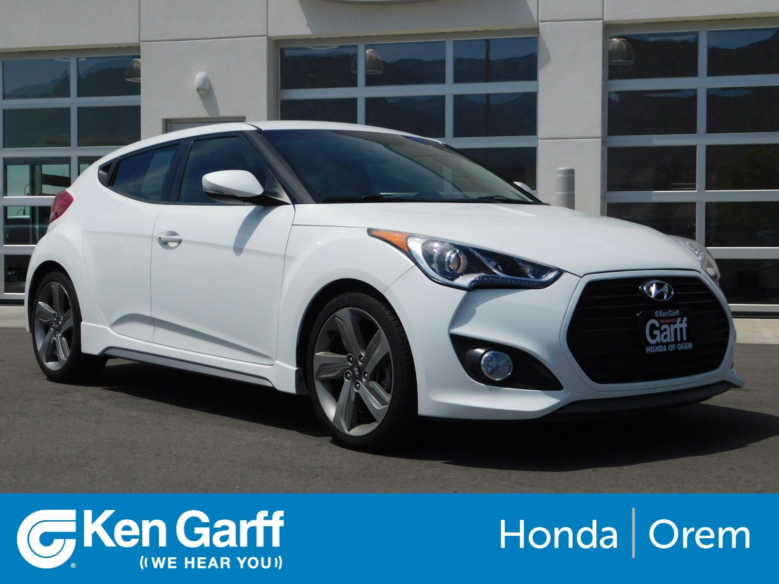 Pre-Owned 2015 Hyundai Veloster Turbo FWD 3dr Car