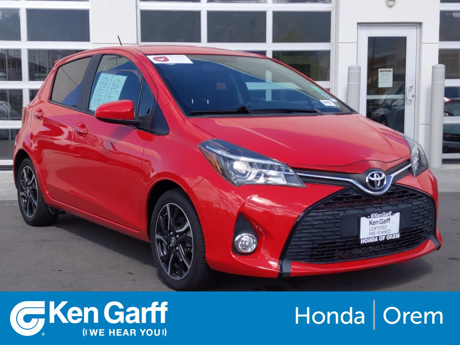 Pre-Owned 2015 Toyota Yaris 5DR LIFTBACK AU