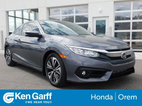 Certified Pre-Owned 2018 Honda Civic Coupe EX-T